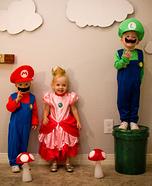 Super Mario Triplets Homemade Costume