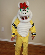 Super Mario World Bowser Homemade Costume
