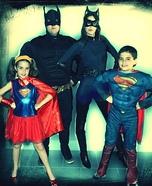 SuperFam Homemade Costume