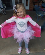 Supergirl Homemade Costume