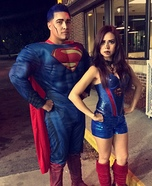 Supergirl & Superman Costume