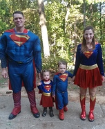 Superhero Family Costumes