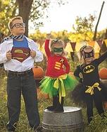 Superheroes Homemade Costume