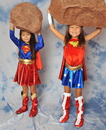 Superheroes Girls Costumes