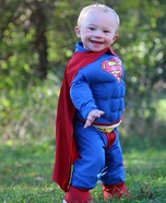 Cute Superman Baby Costume