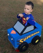 Superman Monster Truck Homemade Costume