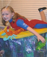 Surfer Girl Homemade Costume