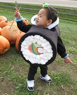 DIY baby costume ideas: Sushi Baby Costume