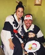 Sushi Baby Homemade Costume