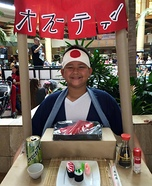 Sushi Chef Homemade Costume