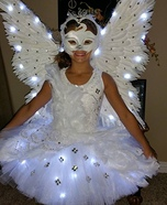 Homemade Swan Costume