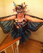 Swarm of Butterflies Homemade Costume
