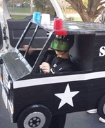 Swat Man and Truck Homemade Costume