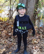 SWAT Member Homemade Costume