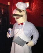 Muppets Swedish Chef Costume