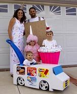 Sweet Family Homemade Costume