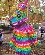 Homemade Piñata Costume