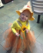 Cute baby costume ideas: Sweet Scarecrow Homemade Costume