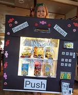 Sweets Treats Vending Machine Homemade Costume