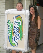 Homemade Swiffer and Mud Lady Costumes