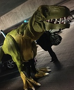 T-Rex Homemade Costume