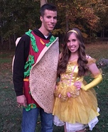 Taco Bell Couple Homemade Costume