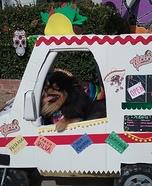 Taco Truck Pomeranian Homemade Costume