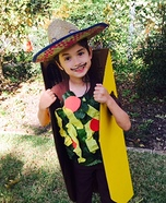 Taco Tuesday Homemade Costume