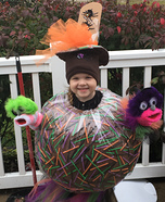 Taffy Apple Homemade Costume