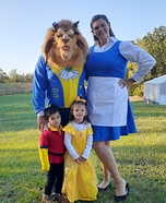 Tale As Old As Time Homemade Costume