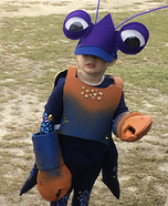 Tamatoa from Moana Homemade Costume