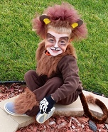 Tame Lion Homemade Costume