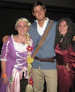 Tangled Rapunzel, Flynn Rider and Mother Gothel Costume