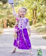 Tangled Rapunzel Homemade Costume