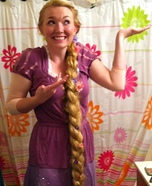 Homemade Rapunzel Costume