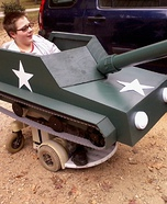 Tank Wheelchair Costume