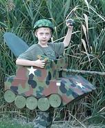 Tank Boy's Homemade Costume