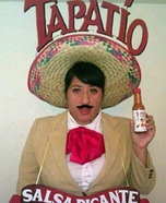 Tapatio Hot Sauce Man Homemade Costume