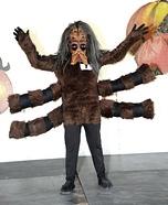 Tarantula Boy Homemade Costume
