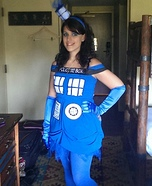 Tardis Homemade Costume