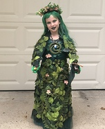 Te Fiti from Moana Homemade Costume
