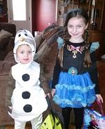 Team Frozen Homemade Costume