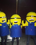Team Minions Homemade Costume