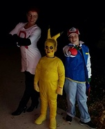 Team Pokemon Homemade Costume