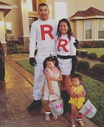 Team Rocket Family Costume