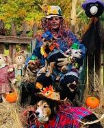 Team Scarecrows Homemade Costume