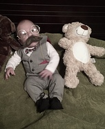 Teddy Baby Homemade Costume