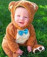 Adorable Teddy Bear Baby Costume