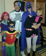 Teen Titans Go Family Homemade Costume