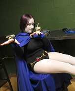 Teen Titans - Raven Homemade Costume